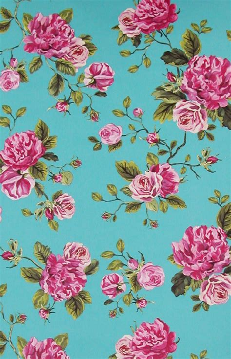wallpaper pink and blue floral blue and pink flower wallpaper free download