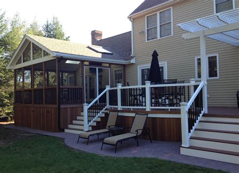 Deck Design Ideas ? with Screened Porch   Archadeck