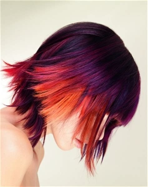 dramatic colors dramatic hair color ideas 2011