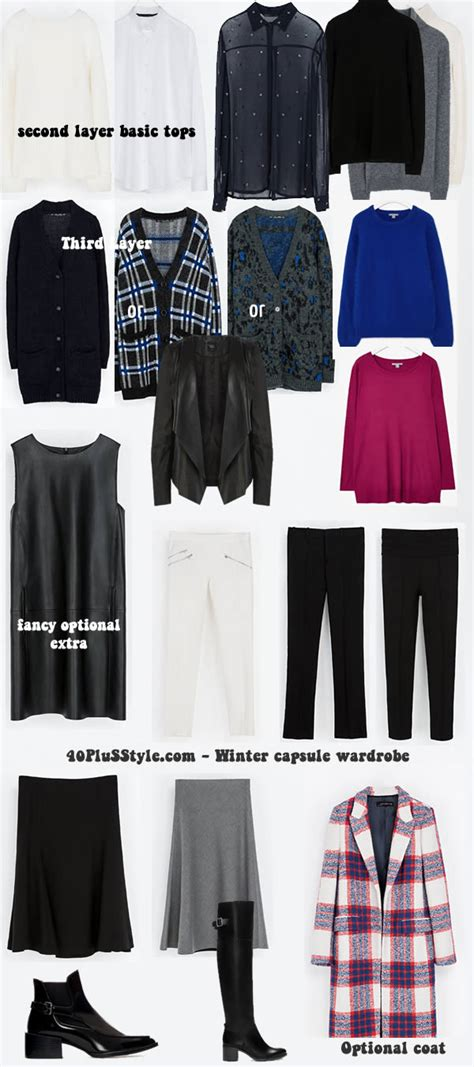 creating a capsule wardrobe for winter personal