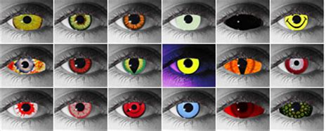 city colored contacts contact lenses and other special effect contacts
