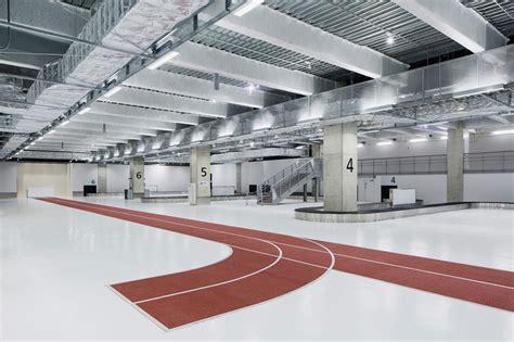 designboom airport narita airport s new terminal has color coded running tracks