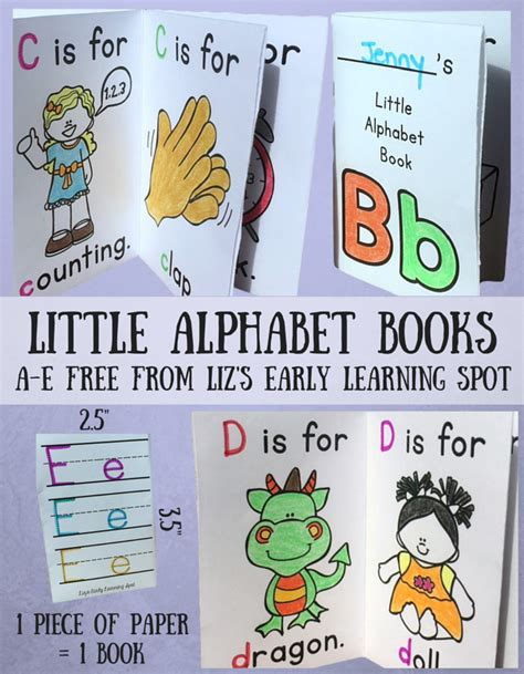 pictures for alphabet book my alphabet books liz s early learning spot