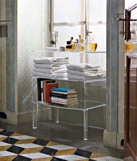 standing acrylic lucite bathroom furniture cabinet novacom