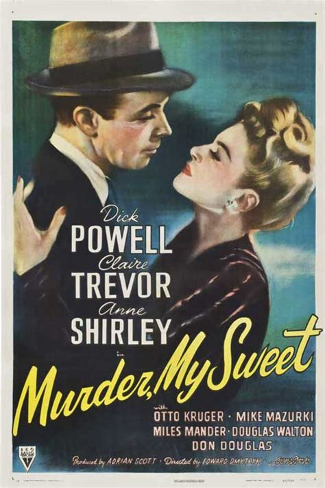film romance noir murder my sweet movie posters from movie poster shop
