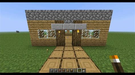 how to make a house in minecraft how to make a fast and easy house in minecraft youtube