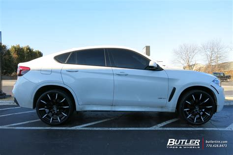 x6 bmw wheels bmw x6 with 22in lexani css15 wheels exclusively from