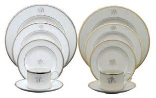 pickard monogrammed and custom pickard china and dinnerware made in america