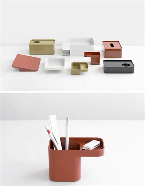 modern desk accessories set formwork modern modular desk organization accessories