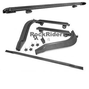 Jeep Top Hardware 1997 2006 Jeep Wrangler Unlimited Frameless Soft Top