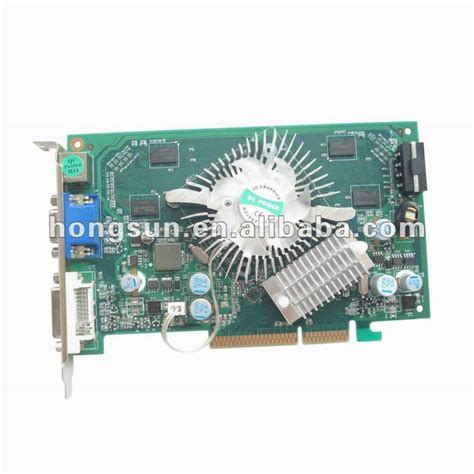 Vga Card Agp 512mb Nvidia Geforce Gpu 7600 Gs Agp 512mb 128bit Ddr2 S Vga Dvi Card P508 For Best