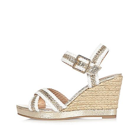 Wedges Pin Merak 4 5cm white woven wedges sandals shoes boots