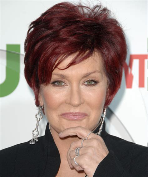 back view of sharob osbournes hair sharon osbourne hairstyles in 2018