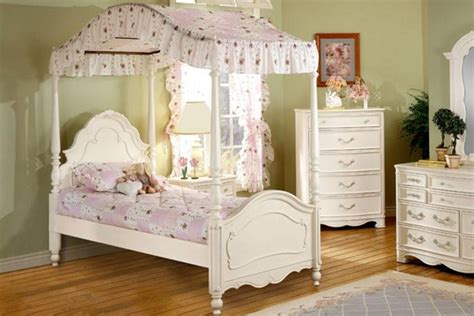 michelle twin canopy bed  gardner white