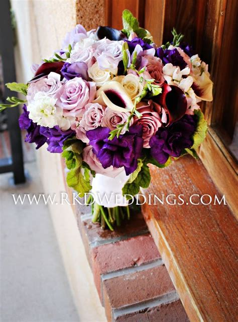 Wedding Bouquets Using Calla Lilies by 37 Best Purple Weddings Images On Lilac