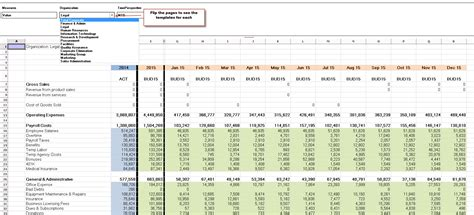 department budget template excel departmental budget template budget template free