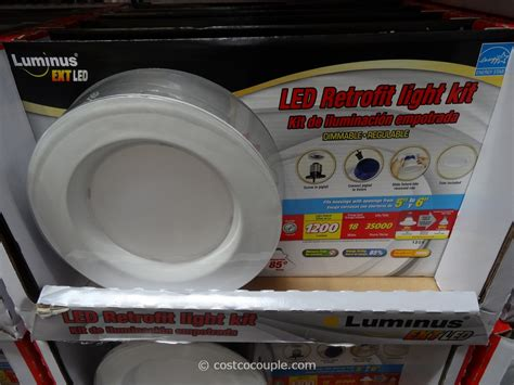 Costco Led Lights by Luminus 18w Led Retrofit Kit