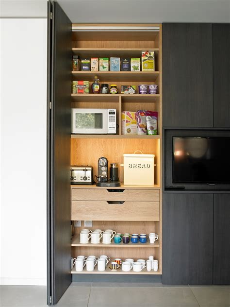 Diy pantry cabinet kitchen contemporary with internal