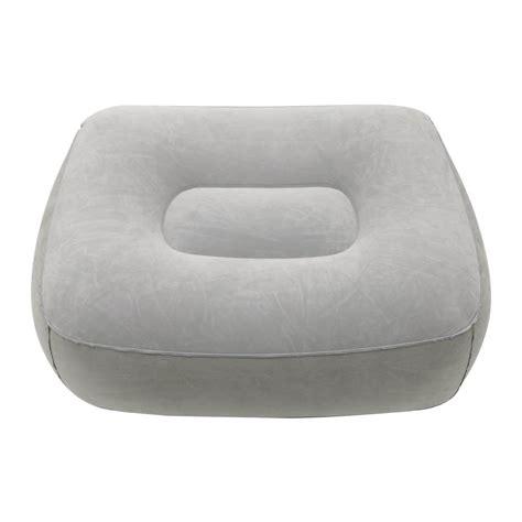 foot rest pillow cushion travel ottomans leg up
