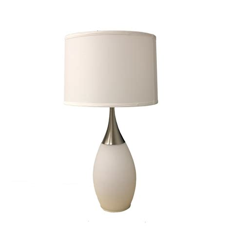 Table Lamps Modern by Ore International 28 Quot H White Modern Night Light Table Lamp