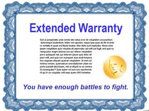 warranty statement template earn money by not buying extended warranties the con