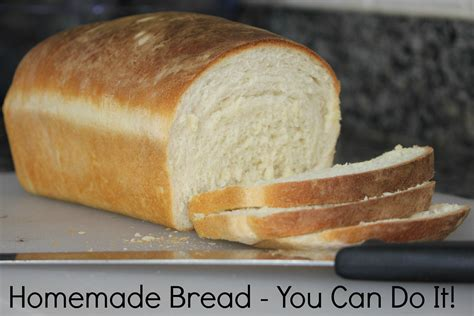 Handmade White Bread - bread you can do it 183 lovelivegrow