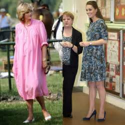 princess kate pregnant kate middleton s pregnancy style versus princess diana