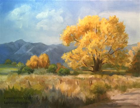 Karen Winters California Impressionist Oil Paintings Paintings Of Landscapes