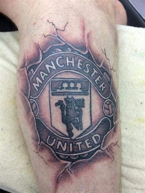 manchester united tattoo manchester united designs