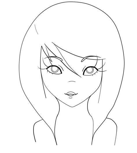 Free Person Outline Coloring Page Download Free Clip Art