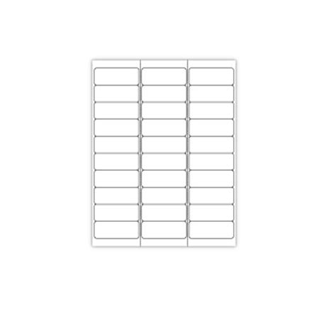 printable adhesive label sheets print your own 30 up adhesive labels 100 sheets ebay