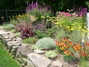 perennial flower garden layout landscape design by lee long island ny photo gallery