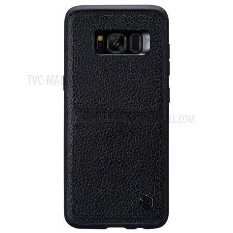 Samsung Galaxy S8 Nillkin Burt Back nillkin burt leather coated pc tpu combo back cover mobile protector for samsung galaxy s8