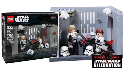 Exclusive Set lego wars 2017 wars celebration exclusive set