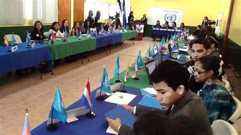 Modelo Curriculum Naciones Unidas modelo naciones unidas unica univalle manamun 2012