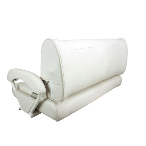 bench bucket seats springfield double bucket bench seat white upholstery west marine
