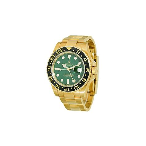 rolex gmt master ii 116718 gold ceramic world s best