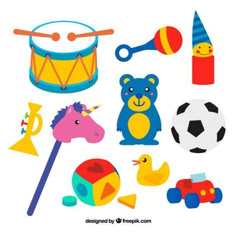 dibujos infantiles juguetes juguetes infantiles coloridos descargar vectores gratis