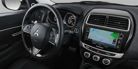 outlander mitsubishi inside photo 2017 mitsubishi outlander sport interior tour