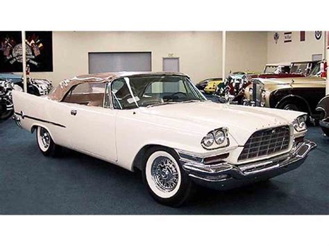 1957 Chrysler 300c For Sale by 1957 Chrysler 300c For Sale Classiccars Cc 727011