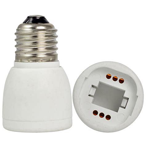 light socket adapter home mengsled mengs 174 e27 to g24 led light l socket