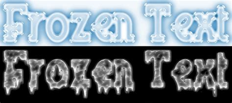 tutorial logo frozen don t used very small or very thin font faces because