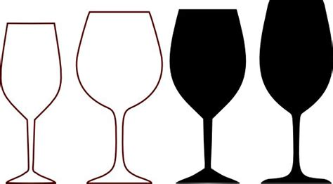 wine glass silhouette wine glass clipart wine glasses silhouette clip art