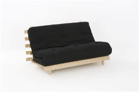 4ft6 premium luxury futon wooden sofa bed