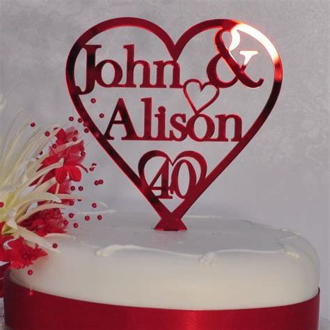 1000  ideas about Ruby Wedding Anniversary on Pinterest
