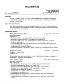 Cost Accounting Resume by Librarian Resume Website Ebook Database