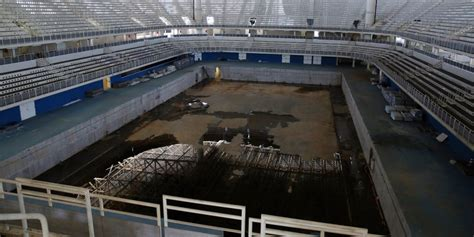 rio olympic venues now rio olympic venues are abandoned just 6 months after the