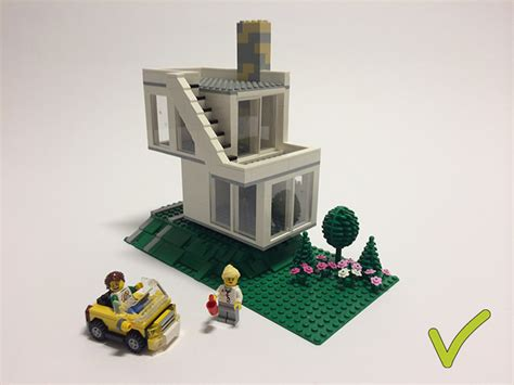 1 Level House Plans by Ideas Lego