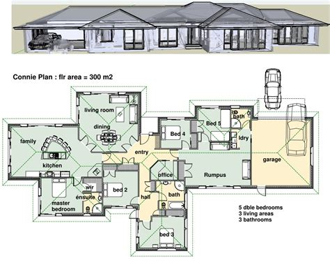 Modern house plans likewise 6 bedroom house plans on dream house