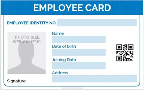 crc cards ms word template 5 best employee id card format in word microsoft word id
